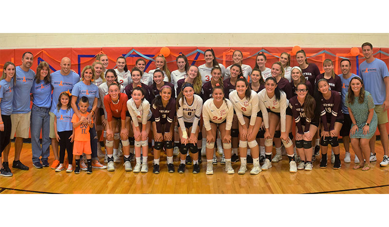 Connetquot HS Girls Volleyball Program Supports A Good Cause