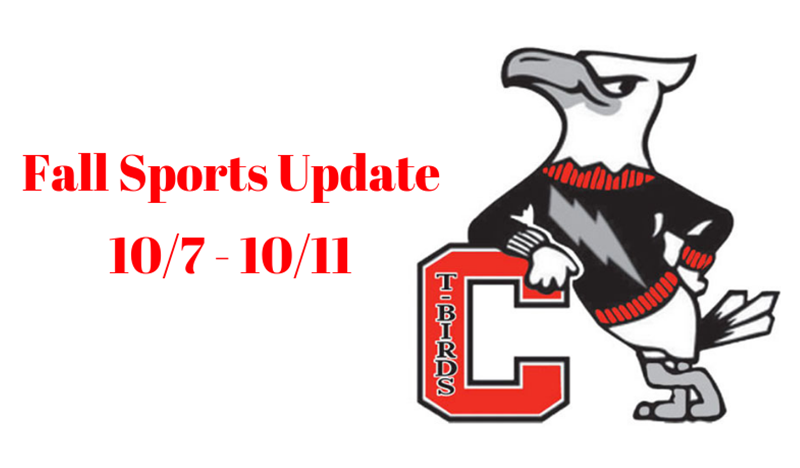Weekly Sports Update - October 7-11, 2019